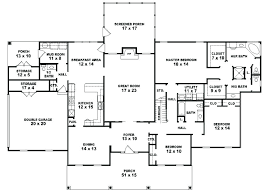 5 bedroom house plans 1 story exciting 5 bedroom one story house plans contemporary best