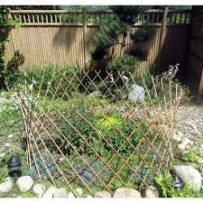 Willow Trellis Green Garden Depot Peeled Willow Circular Fence Renewable Willow