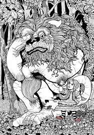 wizard oz coloring book ethan mongin coroflot