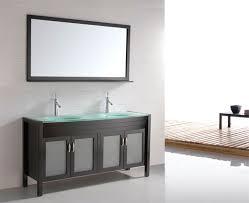 Bathroom Vanities With Glass Tops Furniture Gorgeous U003e Bath U003e Bathroom Vanities U003e 60 Inch