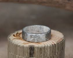 Stag Head Designs Antler Lined Ring Etsy