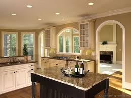 Paint Ideas For Kitchen Cabinets Pictures Of Kitchens Traditional Two Tone Kitchen Cabinets