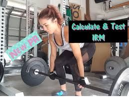 Calculate Your Max Bench How To Calculate And Test Your 1 Rep Max New Pr Youtube