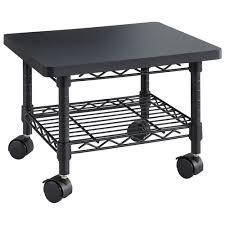sous le bureau support d imprimante en acier de safco à placer sous le bureau