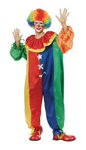 clown costume partyholic men s party clown costume walmart canada