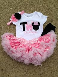 Minnie Mouse Clothes For Toddlers Rosa Y Negro Minnie Mouse Cumpleaños Traje Por Wildroseboutique2