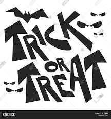 vector halloween vector halloween trick or treat graphic clipart stock vector