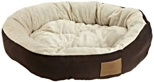 Bed by Amazon Com Akc Casablanca Round Solid Pet Bed Dog Bed Pet