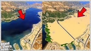 World Deserts Map by Gta 5 New Desert Map Expansion Youtube