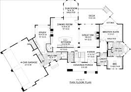 Foyer Plans Nantucket 9668 5 Bedrooms And 4 Baths The House Designers
