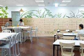 tokyo google office non residential 12 japanese dining area cafeteria google s tokyo
