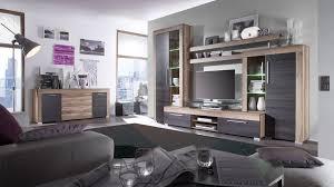 Wohnzimmerschrank Trends Nemann Vechta Wohnwand Mit Vitrinen Und Einem Tv Lowboard In