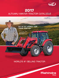 2017 mahindra tractor catalogue by news corp studios queensland