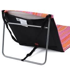 Lightweight Beach Chairs Uk Folding Sun Lounger Beach Mat Lightweight Portable Adjustable Back