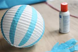 How To Make Paper Air Balloon Lantern - how to make a air balloon vintage style