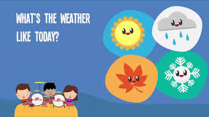 what s what s the weather like today song lyrics video for kids the