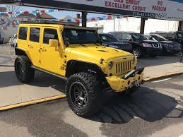 yellow jeep wrangler unlimited yellow jeep wrangler unlimited brooklyn ny chion auto sales