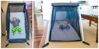 a great travel crib for baby to sleep safely and happily around