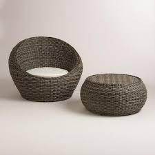 world market all weather wicker formentera egg outdoor chair