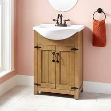 Oak Bathroom Cabinet 24 Havilla Vanity Weathered Gray Oak Bathroom