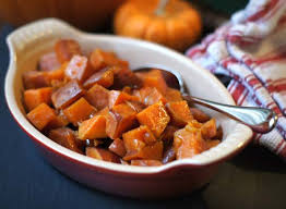 maple glazed sweet potatoes vegan detoxinista