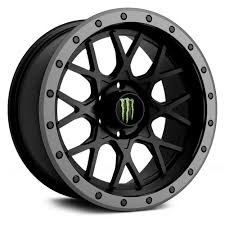 monster energy 649ba wheels with anthracite grey lip rims