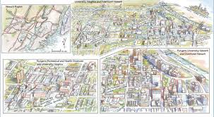 American University Campus Map Visit Us Rutgers University Newark