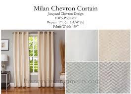 Pastel Coloured Curtains Milan Chevron Curtain Panel Www Bestwindowtreatments Com