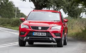 seat ateca 2016 seat ateca driving britain u0027s 15 best small suvs ranked cars