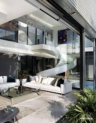 living room in mansion modern mansion with perfect interiors by saota architecture beast