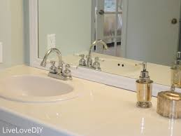 bathroom tile countertop ideas livelovediy easy diy ideas for updating your bathroom