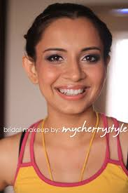 bridal hairstyle for reception the many looks events at nisha u0027s wedding s my cherry style