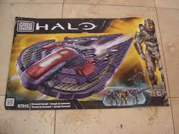 mega bloks halo covenant seraph 97015 instruction manual booklet