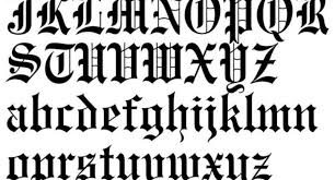tattoo letters old english gallery letter examples ideas