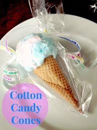 cotton candy party favor larson cotton candy cones party favors