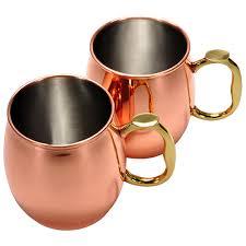 moscow mule mugs moscow mule mug 20oz set of 2 oggi 9007