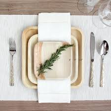 bamboo plates wedding the 25 best palm leaf plates ideas on bulk paper