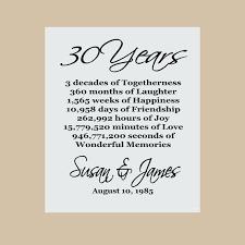 30 wedding anniversary 30 wedding anniversary invitations anniversary gift pearl