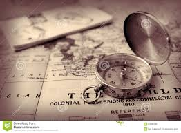 Old World Map by Old World Map And Compass Stock Photo Image 64996785