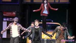 Curtain Call Mp3 Fancam 111221 Eunhyuk Musical Fame Curtain Call With Tiffany