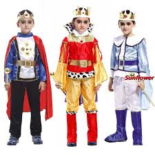 Halloween Costumes Boy Kids Child Boy Kids Prince King Cosplay Costume Fancy Dress Party Ball