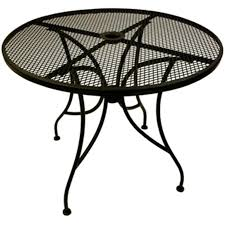 36 Patio Table Wrought Iron Table Top With Base 36 At Fashionseating