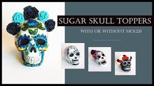 sugar skull molds sugar skull toppers calaveritas de azúcar without with molds
