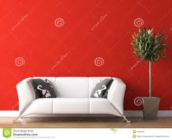 Wall Interior Design Interior Design With Frames On Concrete Wall 3d Rendering Stock