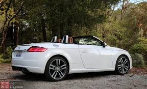 convertible audi 2016 2016 audi tt roadster review not just a pretty face