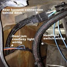 mustang american autowire wiring harness 1965 1966 installation