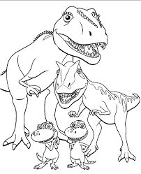 dinosaur colouring pages 11 print download free