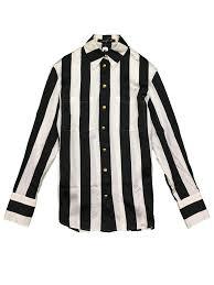black and white striped blouse balmain x h m black and white striped blouse pakt hk