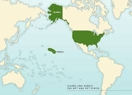 alaska and hawaii on us map a territorial history of the united states