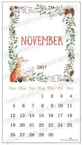 printable calendar page november 2017 november 2017 printable calendar